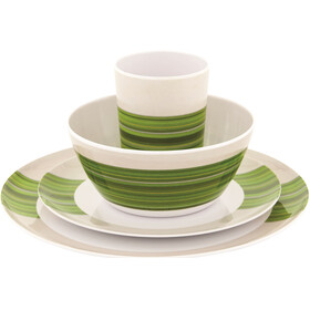 Outwell Blossom - 4 Persons verde/blanco